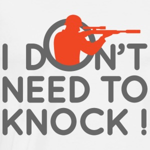 I Dont Need To Knock 2 (dd)++ Tröjor - Premium-T-shirt herr