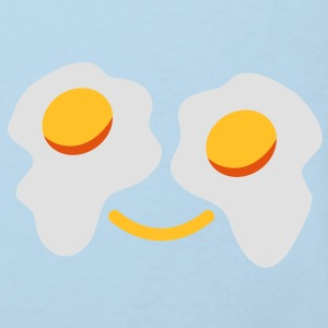 FRIED egg face sunny side up eggs for eyes Accessories - Kids' Organic T-shirt