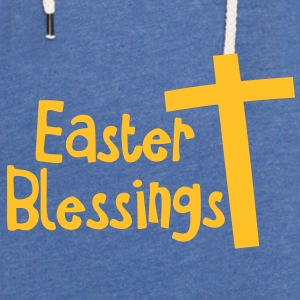EASTER blessings with a tall cross Jesus Christ Accessories - Light Unisex Sweatshirt Hoodie