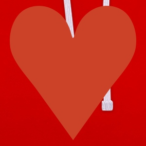 Heart / love Tee shirts - Sweat-shirt contraste