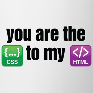 You Are The Css 3 (dd)++ T-Shirts - Tasse