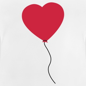 Love Heart Balloon Kids' Shirts - Baby T-Shirt