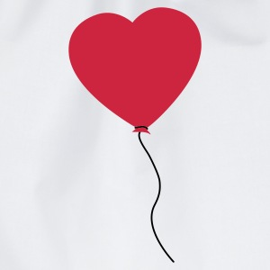 Love Heart Balloon T-shirts - Gymtas