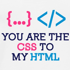 You Are The Css 1 (3c)++ Vesker - Premium T-skjorte for menn