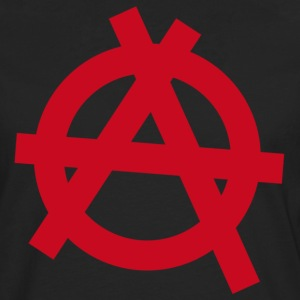Anarchy red symbol - Men's Premium Longsleeve Shirt