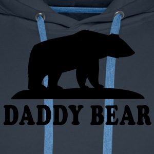 DADDY BEAR T-Shirt HN - Premium hettegenser for menn