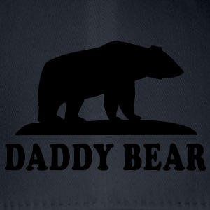 DADDY BEAR T-Shirt HN - Flexfit baseballcap