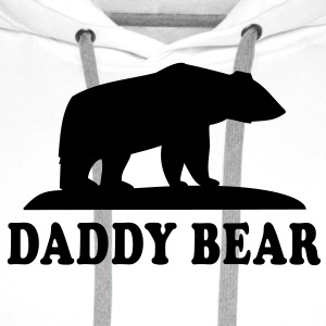 DADDY BEAR T-Shirt RW - Men's Premium Hoodie