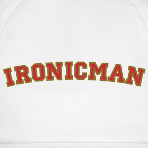 Ironicman T-Shirt - Baseball Cap