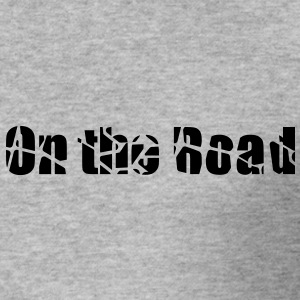 On the road - Tee shirt près du corps Homme