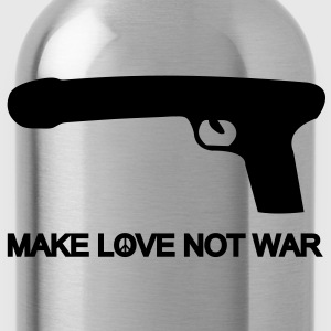 make love not war T-Shirts - Water Bottle