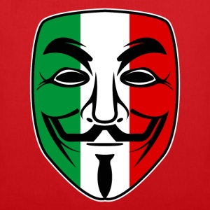 italy anonymous design Tee shirts - Tote Bag