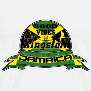good vibes kingston jamaica Pullover - Männer Premium T-Shirt