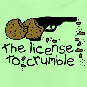 the license to crumble Barnegensere - Baby-T-skjorte