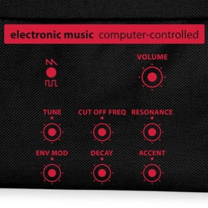 electronic_music T-Shirts - Kinder Rucksack