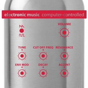 electronic_music T-Shirts - Trinkflasche
