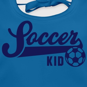 Soccer KID Teenager T-shirt WB - Baby Organic Bib