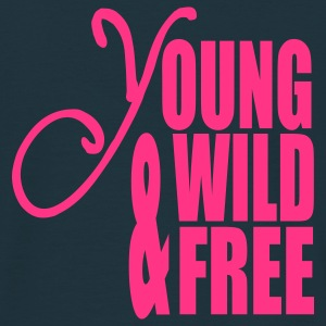 Young Wild and Free Pullover - Männer T-Shirt