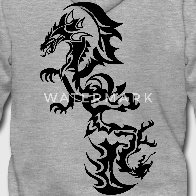 dragon tribal tattoo tatouage13 Sweat-shirts - Veste à capuche Premium Homme