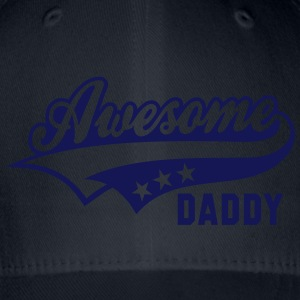 Awesome DADDY T-Shirt HN - Cappello con visiera Flexfit