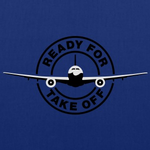 Ready for take off T-Shirts - Tote Bag