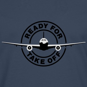 Ready for take off T-Shirts - Premium langermet T-skjorte for menn