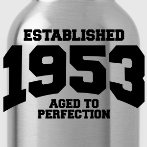 aged to perfection established 1953 (uk) T-Shirts - Water Bottle