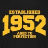 aged to perfection established 1952 (fr) Tee shirts - T-shirt Homme