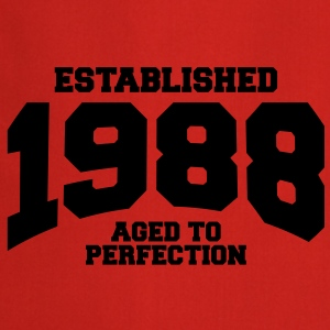 aged to perfection established 1988 (fr) Tee shirts - Tablier de cuisine