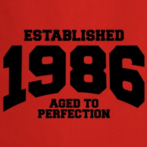aged to perfection established 1986 (fr) Tee shirts - Tablier de cuisine