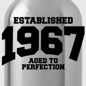 aged to perfection established 1967 (uk) T-Shirts - Water Bottle