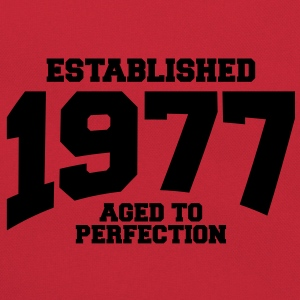 aged to perfection established 1977 (fr) Tee shirts - Sac Retro