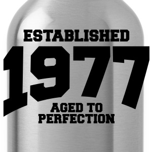 aged to perfection established 1977 (fr) Tee shirts - Gourde