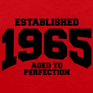 aged to perfection established 1965 (nl) T-shirts - Mannen Premium tank top