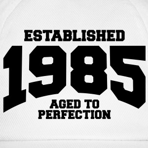 aged to perfection Geburtstag - established 1985 ( - Baseballkappe