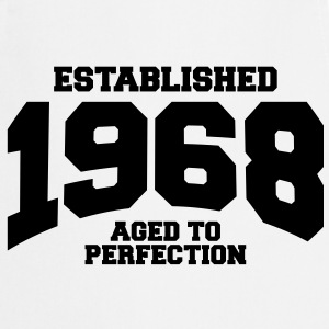 aged to perfection Geburtstag - established 1968 ( - Kochschürze