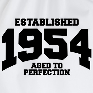aged to perfection established 1954 (fr) Tee shirts - Sac de sport léger