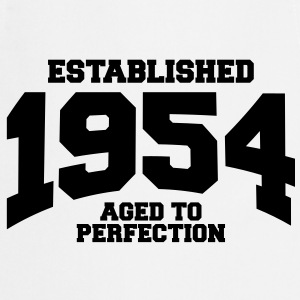 aged to perfection established 1954 (fr) Tee shirts - Tablier de cuisine