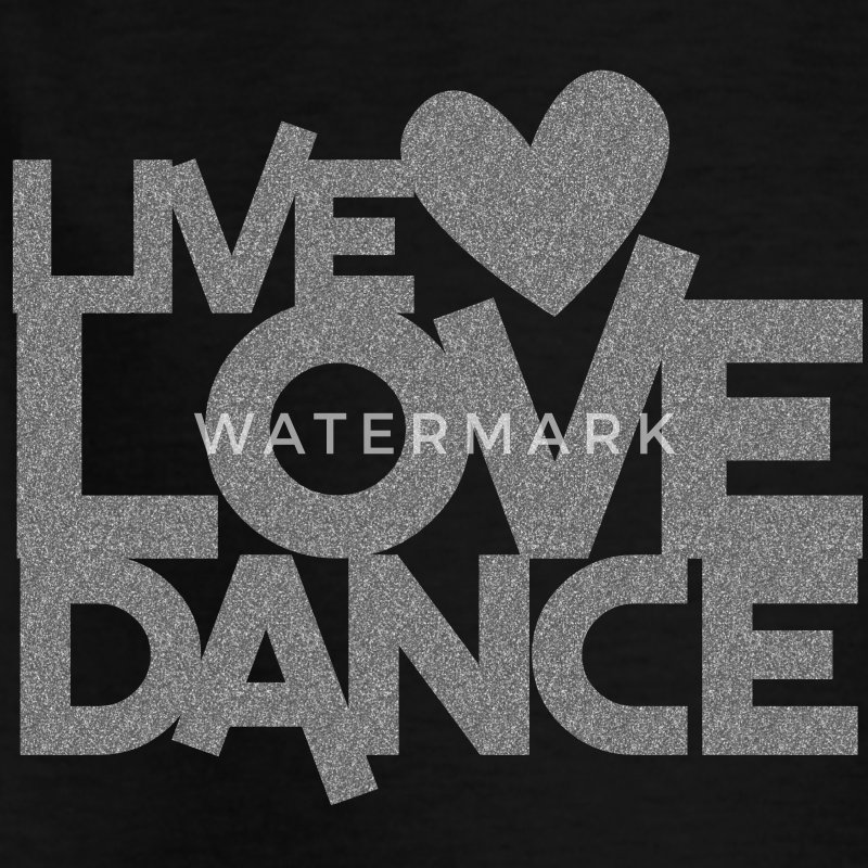 LIVE LOVE DANCE design dancer dancing fitness Shirts - Kids' T-Shirt