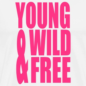 Young Wild and Free II Long sleeve shirts - Men's Premium T-Shirt