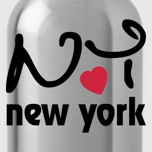 I love New York T-shirts - Vattenflaska