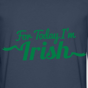 For Today I'm Irish! in ribbon funky Jackets & Vests - Men's Premium Longsleeve Shirt