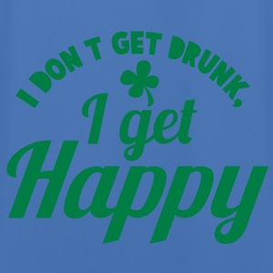 I DONT GET DRUNK- I GET HAPPY@! Jackets & Vests - Men's Football Jersey