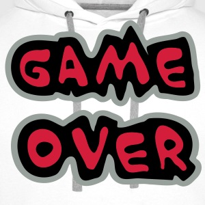 Game Over T-Shirts - Men's Premium Hoodie