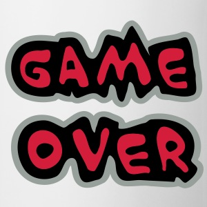 Game Over Tee shirts - Tasse