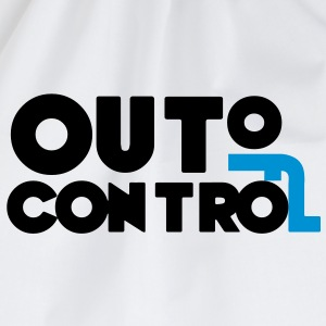 Out of Control Sort / Blå - Sportstaske
