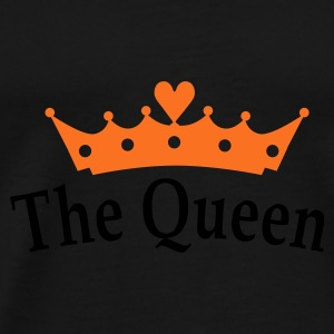The Queen Parapluies - T-shirt Premium Homme