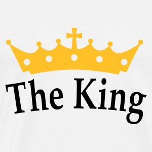 The King Pullover - Männer Premium T-Shirt