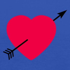 Heart round with arrow Tee shirts - Débardeur Femme marque Bella