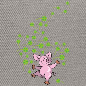 Little pig in good luck Hoodies & Sweatshirts - Snapback Cap